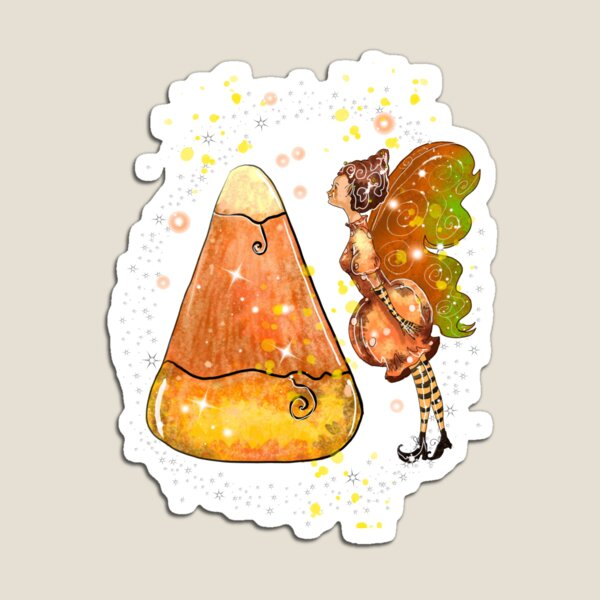 Kindy The Candy Corn Ball Fairy™ Magnet