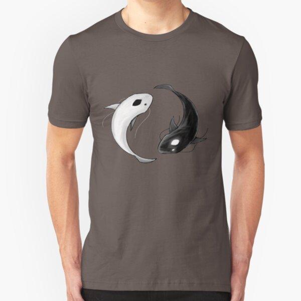 Yin und Yang Slim Fit T-Shirt