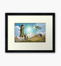 Sound of the Sky Framed Print