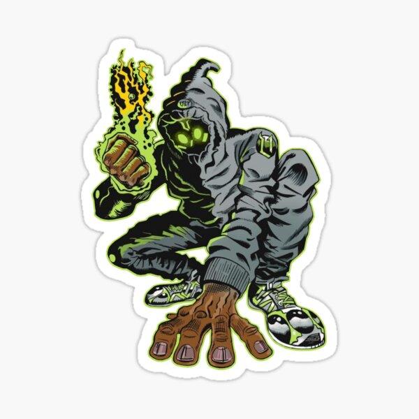 Denzel Curry Unlocked Comic Sticker