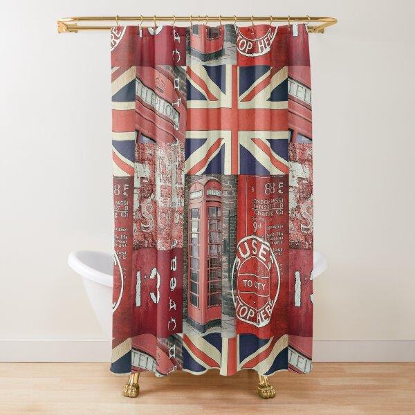 Very british Shower Curtain