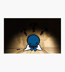The Binding of Isaac - ??? (Blue Baby)  Photographic Print