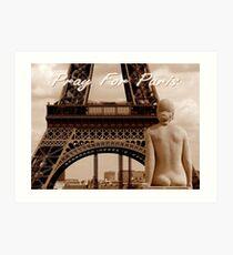 Pray For Paris ~ 11/13/2015 Art Print