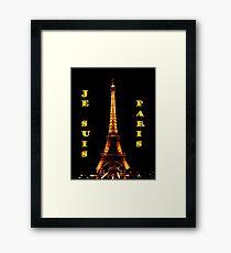 Je Suis Paris ~ 11/13/2015 Framed Print
