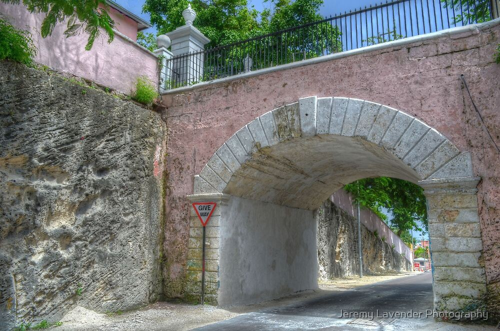 Gregory's Arch in Nassau, The Bahamas by Jeremy Lavender Photography