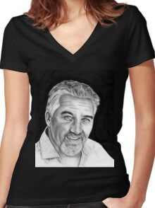 Paul Hollywood Women's Fitted V-Neck T-Shirt