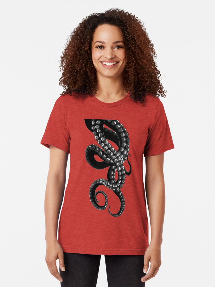 Alternate view of Get Kraken Tri-blend T-Shirt