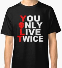 Red Hood: You Only Live Twice Classic T-Shirt