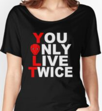 Red Hood: You Only Live Twice Women's Relaxed Fit T-Shirt