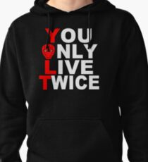 Red Hood: You Only Live Twice Pullover Hoodie