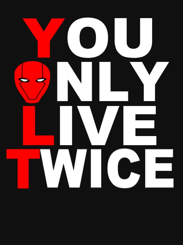 Red Hood: You Only Live Twice | Unisex T-Shirt