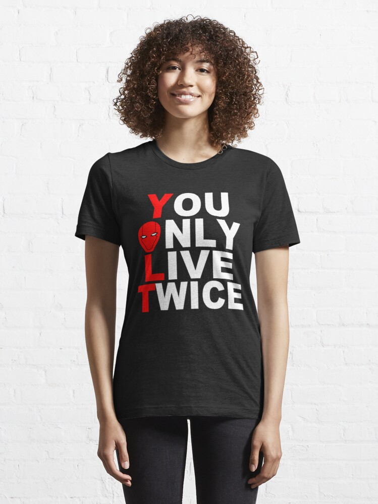Alternate view of Red Hood: You Only Live Twice Essential T-Shirt