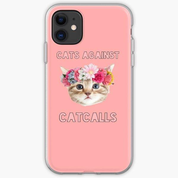 Cats Against Catcalls iPhone Soft Case