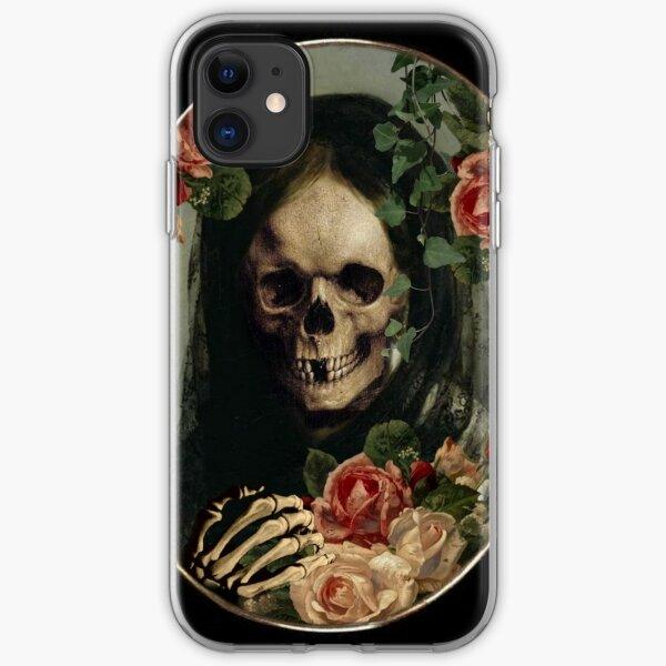 THE BLACK WIDOW iPhone Soft Case