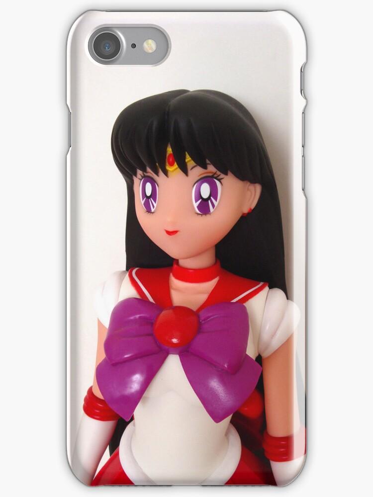 Sailor Mars Doll iPhone Case by bunnyparadise