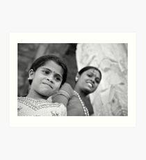 Indian Girls Art Print