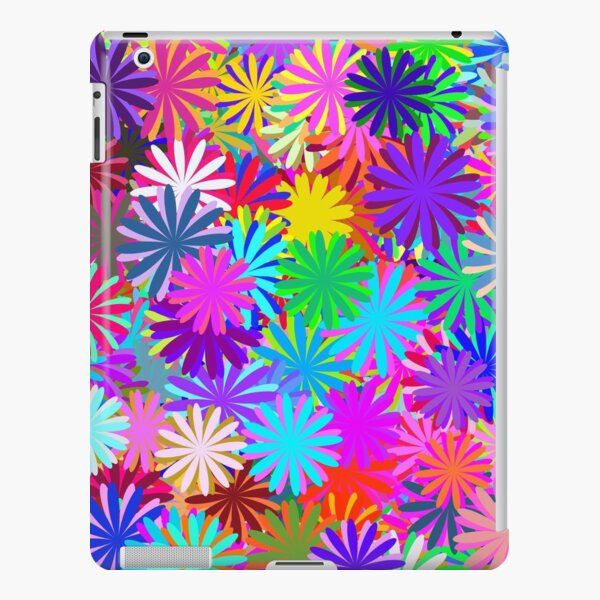 Meadow of Colorful Daisies iPad Snap Case