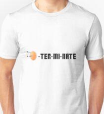 EGG-TER-MI-NATE Unisex T-Shirt
