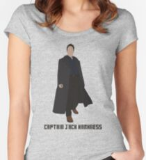 Captain Jack Harkness Women's Fitted Scoop T-Shirt