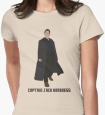 Captain Jack Harkness Women's Fitted T-Shirt