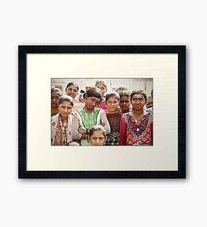 The Eyes Say it All Framed Print