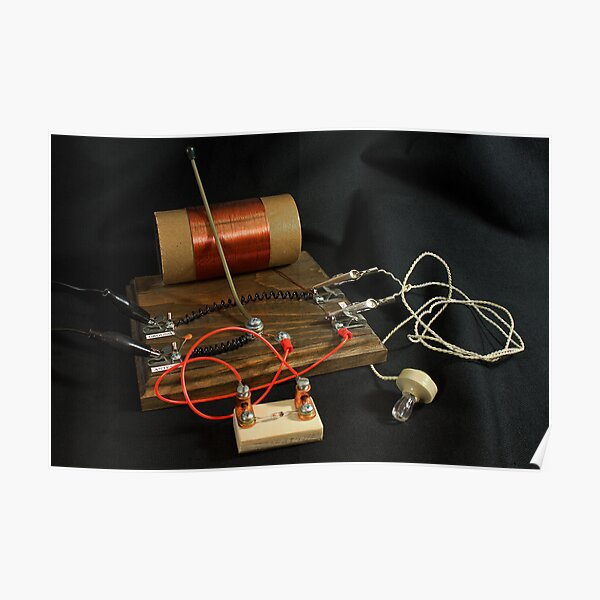 Crystal Diode Radio Poster