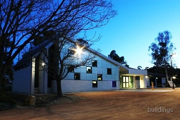 Christian Reformed Church of Canberra by buildings