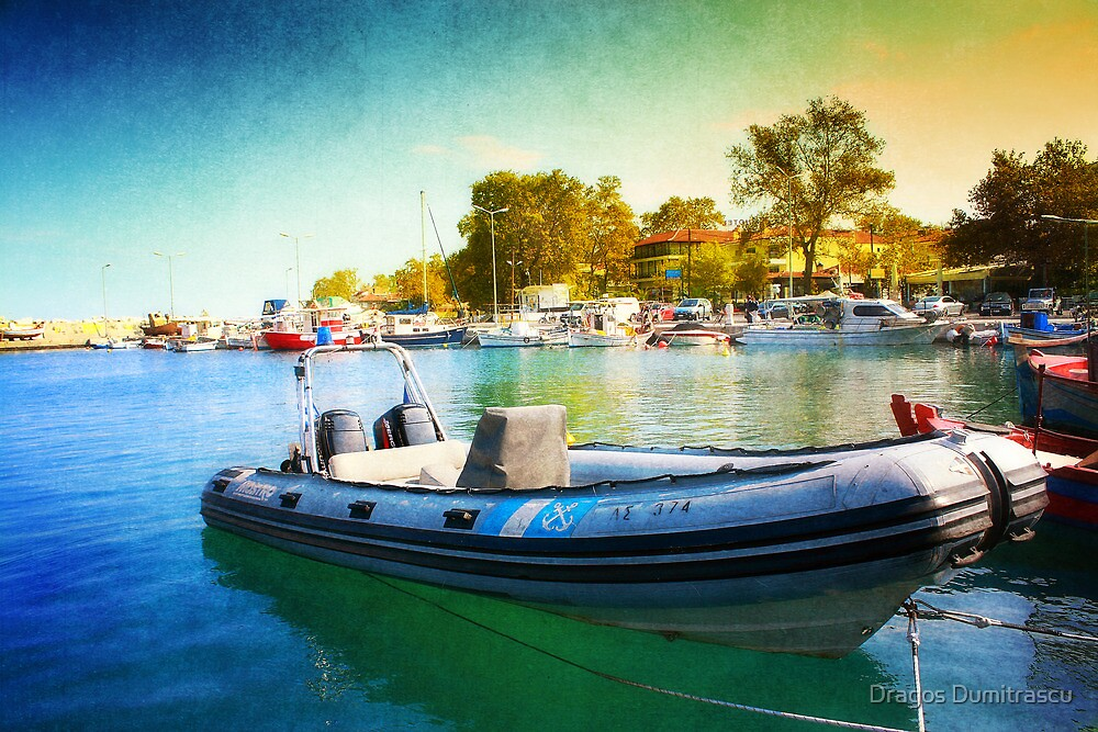 Blue Speeder by Dragos Dumitrascu