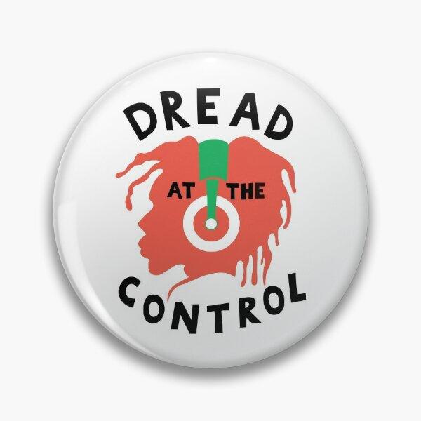 DREAD AT THE CONTROL - Mikey Dread as worn by Joe Strummer Pin