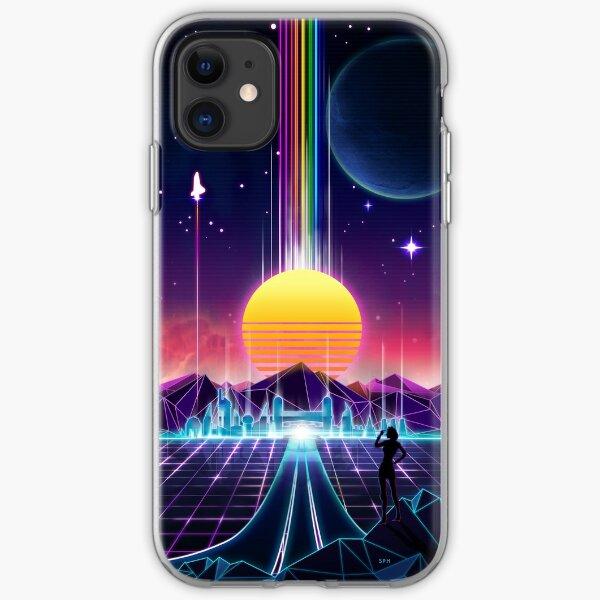 Neon Sunrise iPhone Soft Case