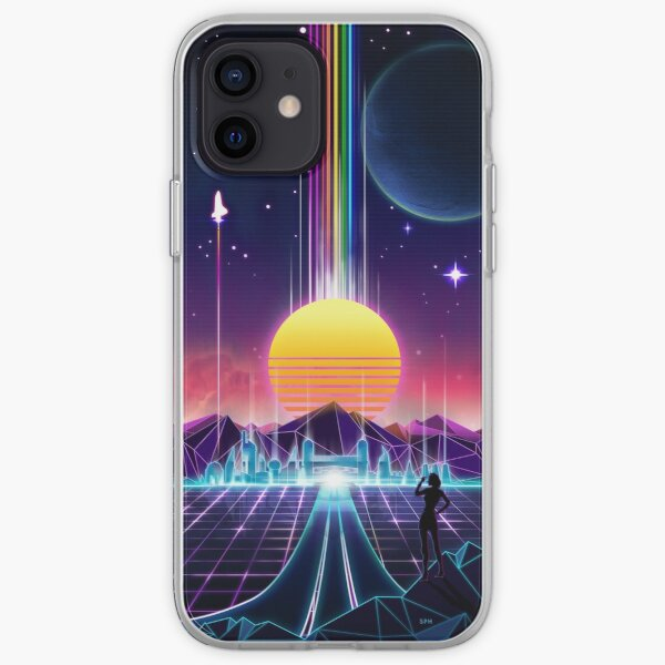 Neon Sunrise iPhone Soft Case