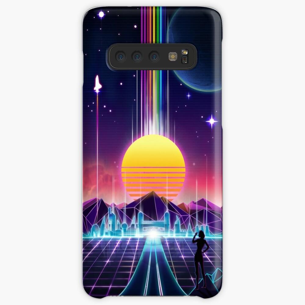 Neon Sunrise Case & Skin for Samsung Galaxy