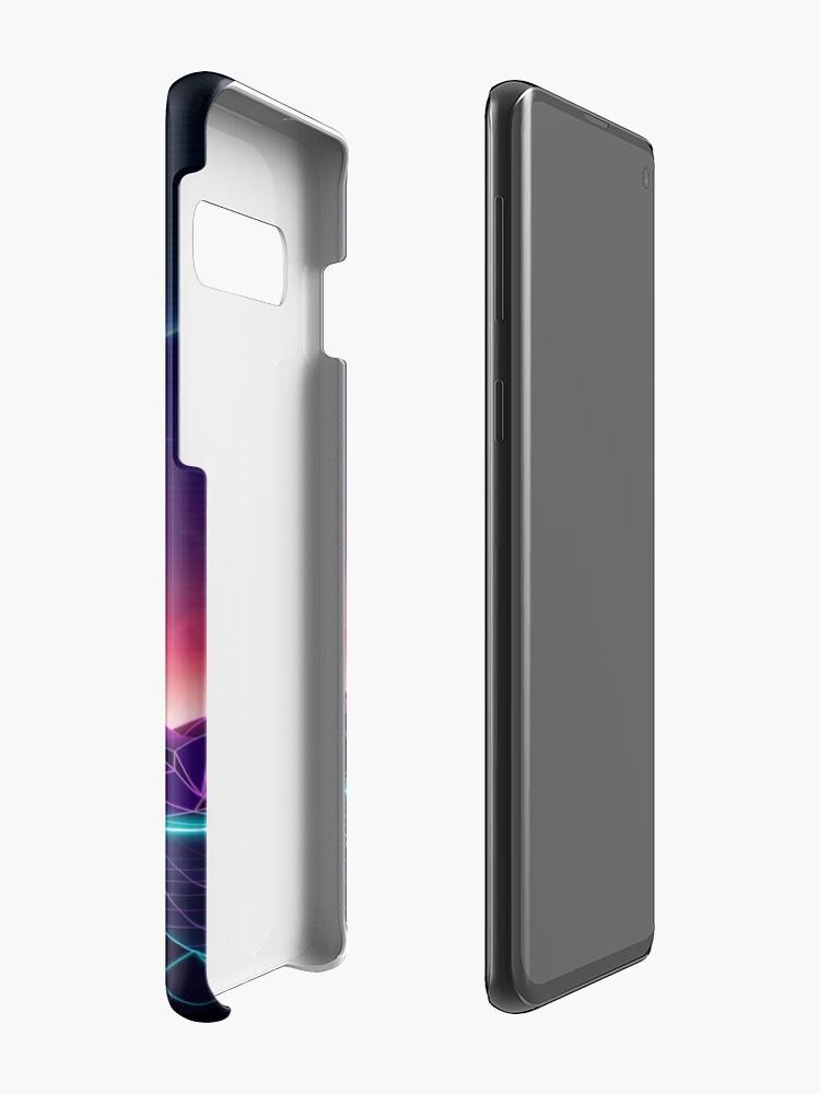 Alternate view of Neon Sunrise Case & Skin for Samsung Galaxy