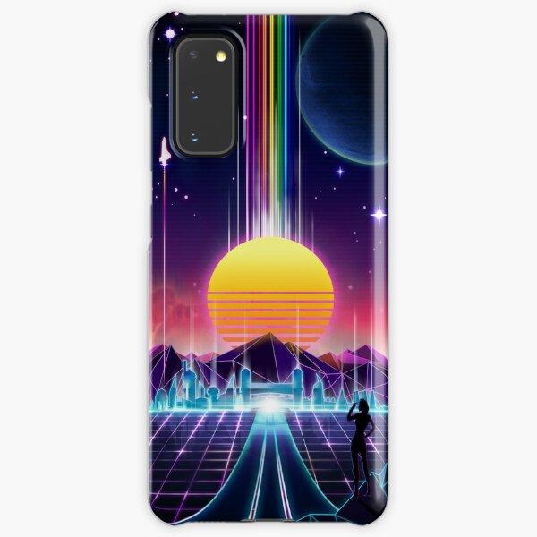 Neon Sunrise Samsung Galaxy Snap Case