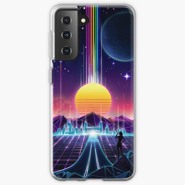 Neon Sunrise Samsung Galaxy Soft Case