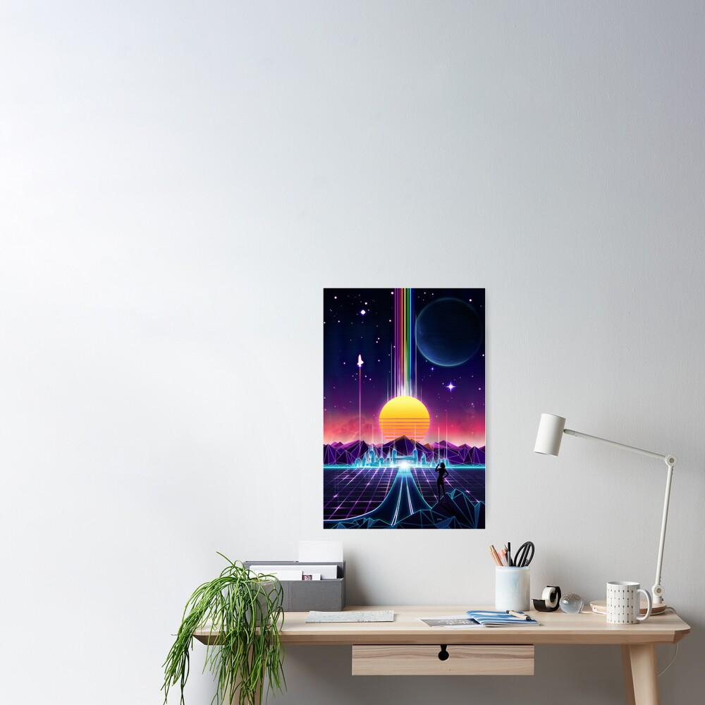 die Zukunft des Neons Poster