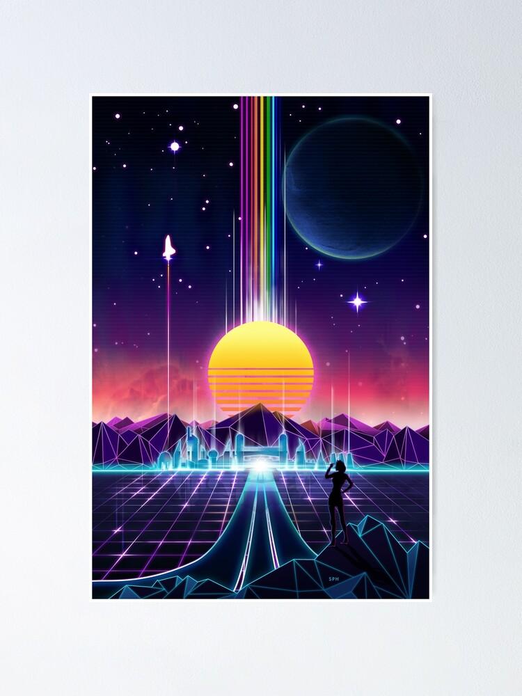 Alternative Ansicht von  die Zukunft des Neons Poster