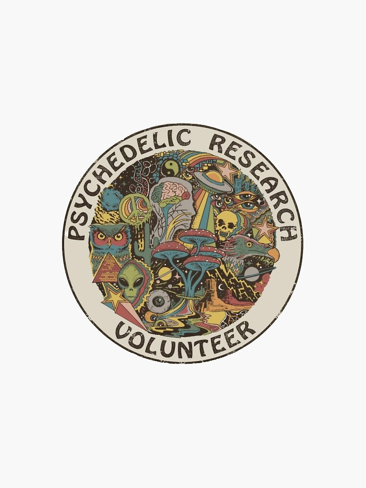 Psychedelic Research Volunteer by sofik