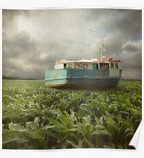 Cornboat Poster