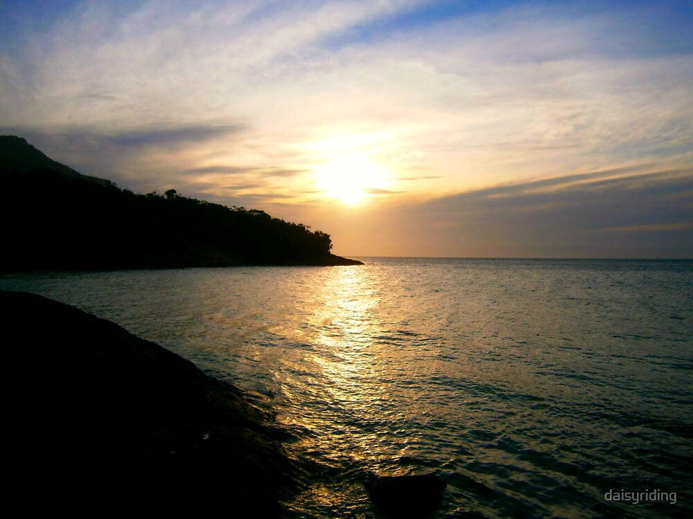 Coles Bay Sunset by daisyriding