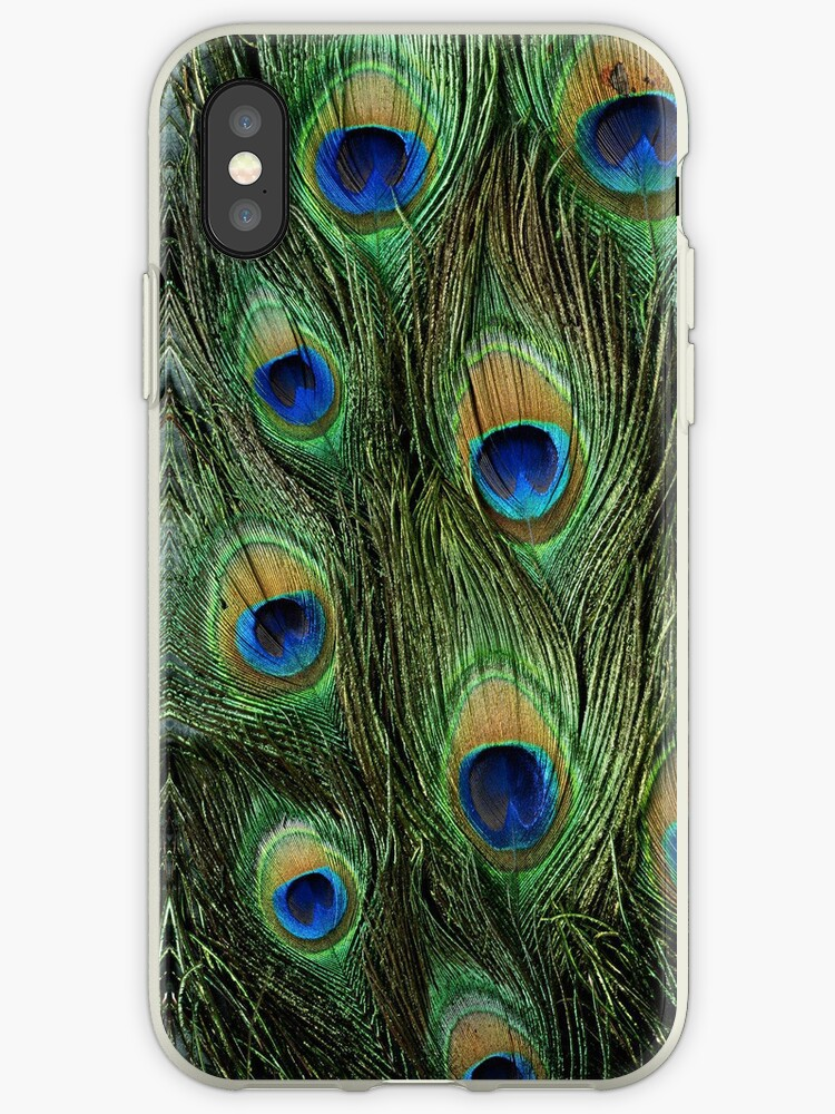 Peacock Iphone Case by lillyybear