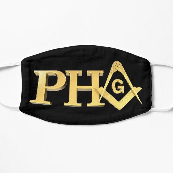 Freemason Prince Hall PHA Gold Square & Compass Masonic Prince Hall Mask
