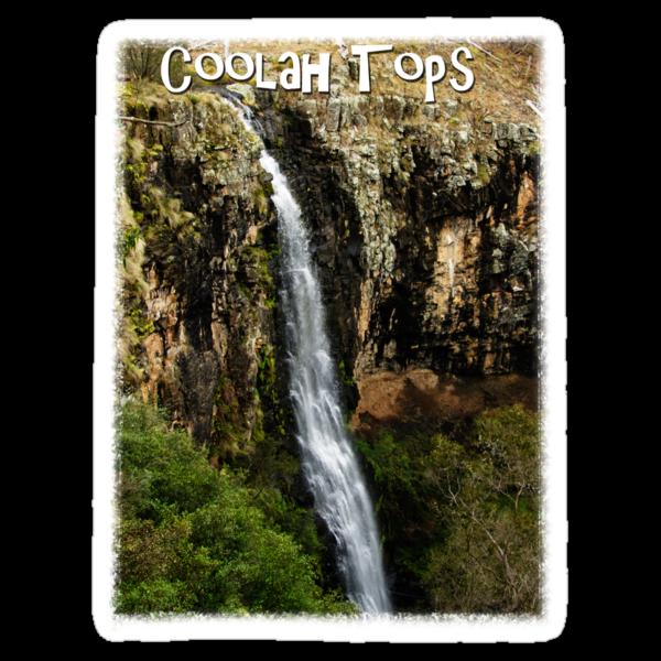 Nelson Falls, Coolah Tops, NSW, Australia Tee shirt by Julia Harwood