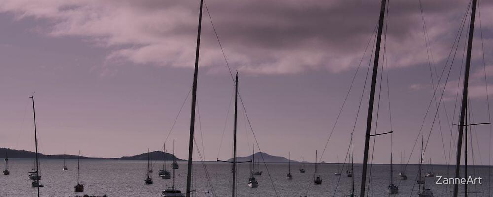 Ayrlie Beach Yachts by ZanneArt
