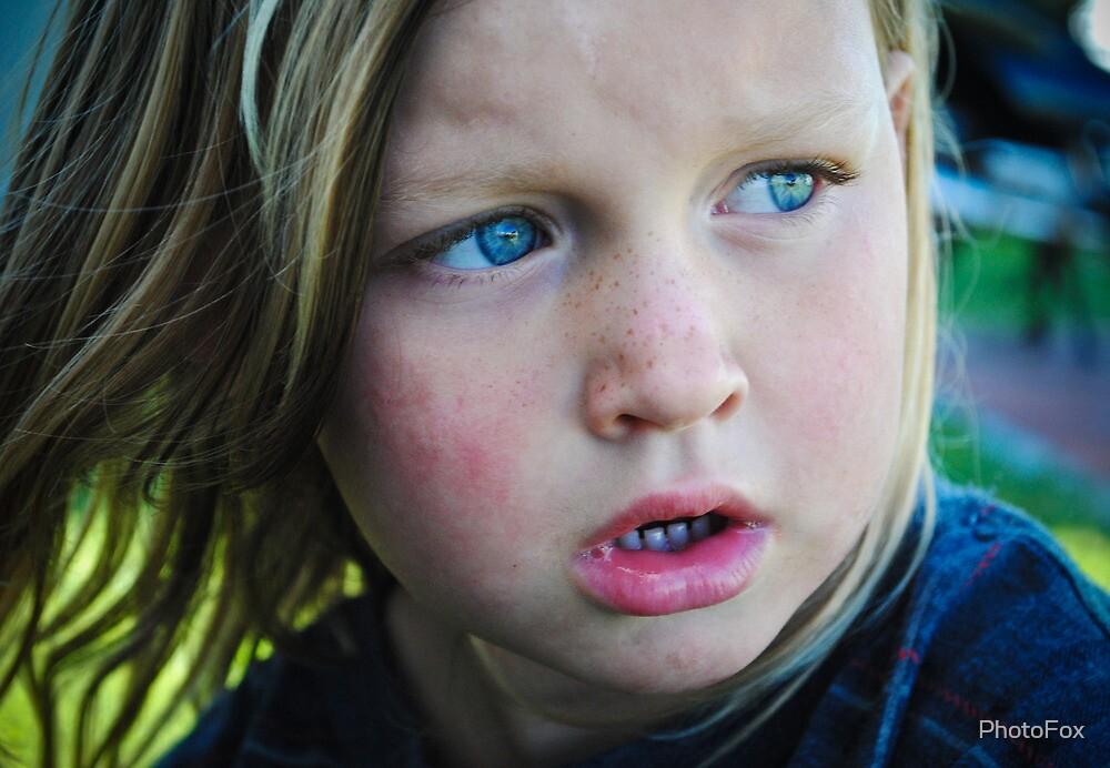 Blue Eyes by PhotoFox