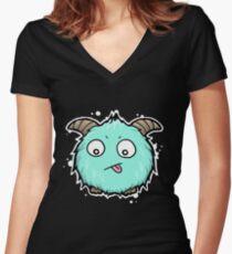 Poro  Women's Fitted V-Neck T-Shirt