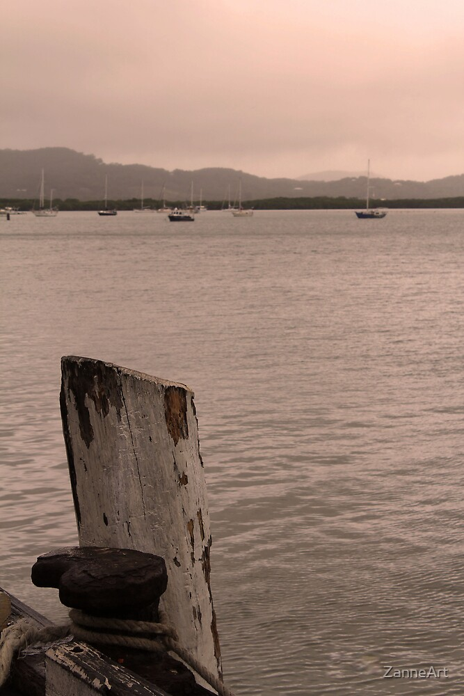 Pier at Cairns Mariner by ZanneArt