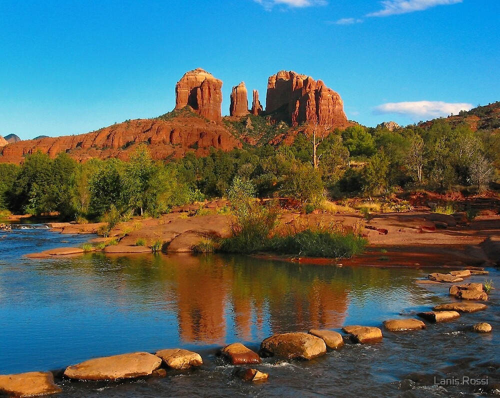 Quot Cathedral Rock Sedona Arizona Quot By Lanis Rossi Redbubble