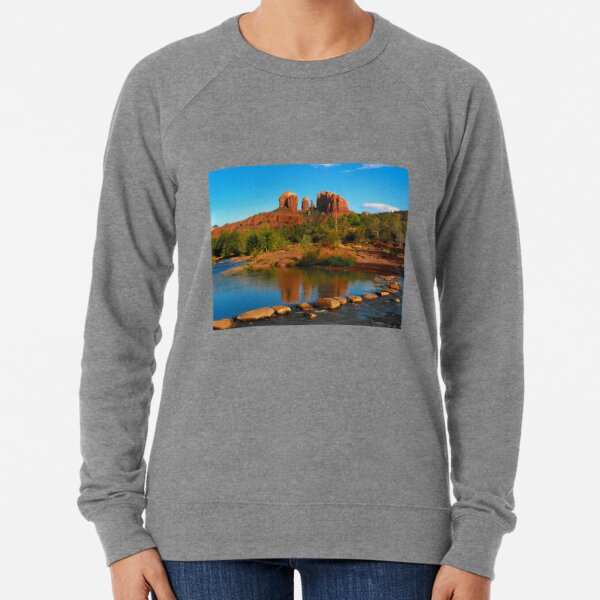 Cathedral Rock, Sedona Arizona Lightweight Sweatshirt