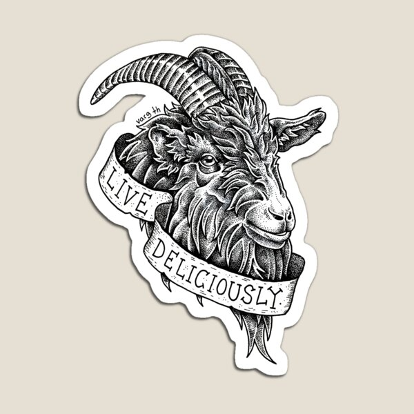 Live deliciously  Magnet